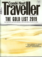 CONDE' NAST TRAVELLER JANUARY-FEBRUARY 2019